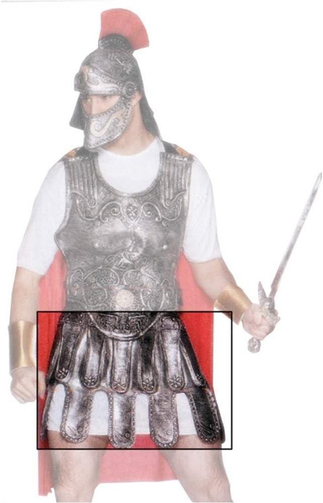 Falda de Armadura Romana color Plata: Amazon.es: Juguetes y juegos