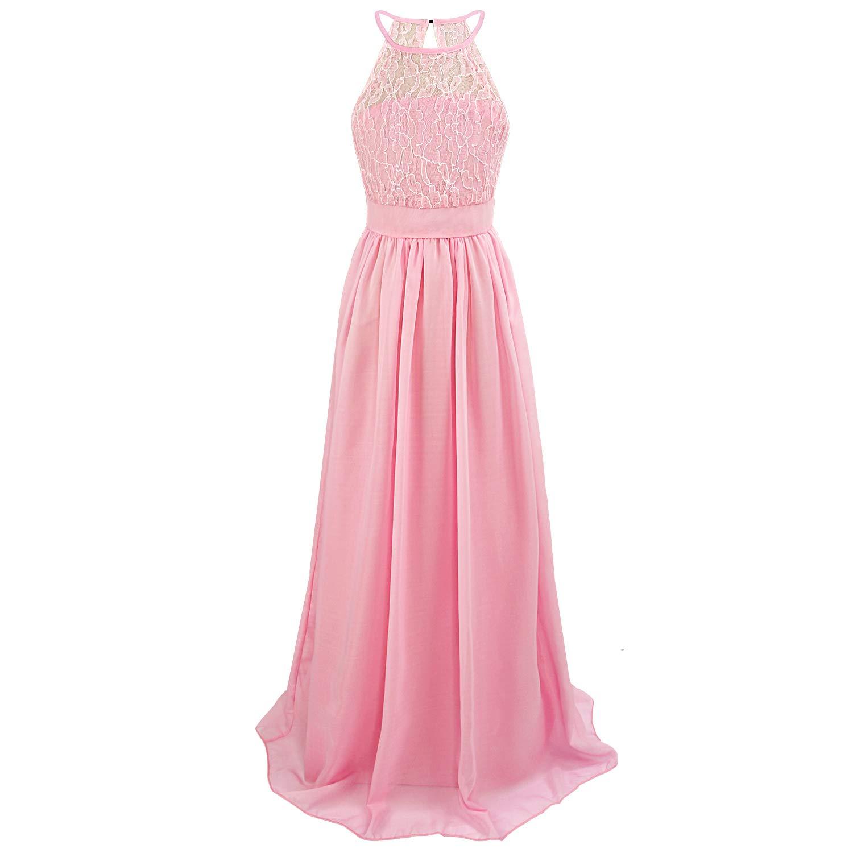 Discoball Ragazze Vestito per Comunione della Festa Nuziale Principessa del Pizzo Elegante Cerimonia Pageant Costume da Abiti 6-9 Anni