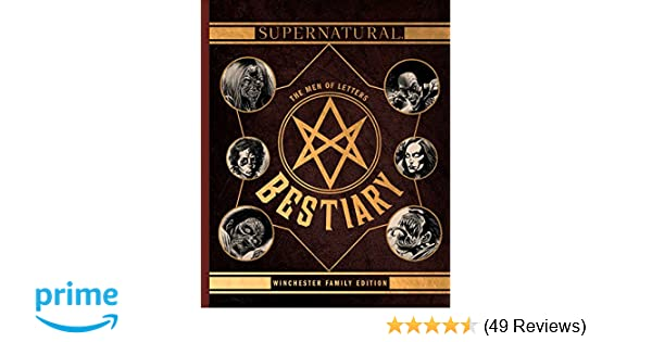 Amazon com: Supernatural: The Men of Letters Bestiary: Winchester