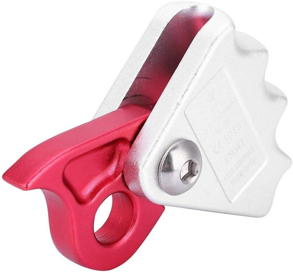 Stop Descender Self-Braking Climb Rescue Rappel Belay Device D3S2 For 10-12 X0L4
