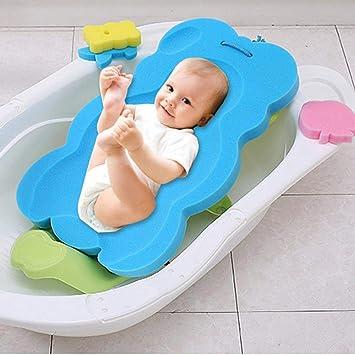 Baby Badekissen Badewanne Unterstützung Badezubehör für Neugeborenen Kleinkind