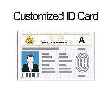 Amazon.com: Insignia de identificación, tarjeta de miembro ...