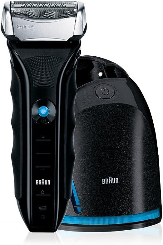 Braun - Afeitadora Series 5 550 con sistema de carga y ...
