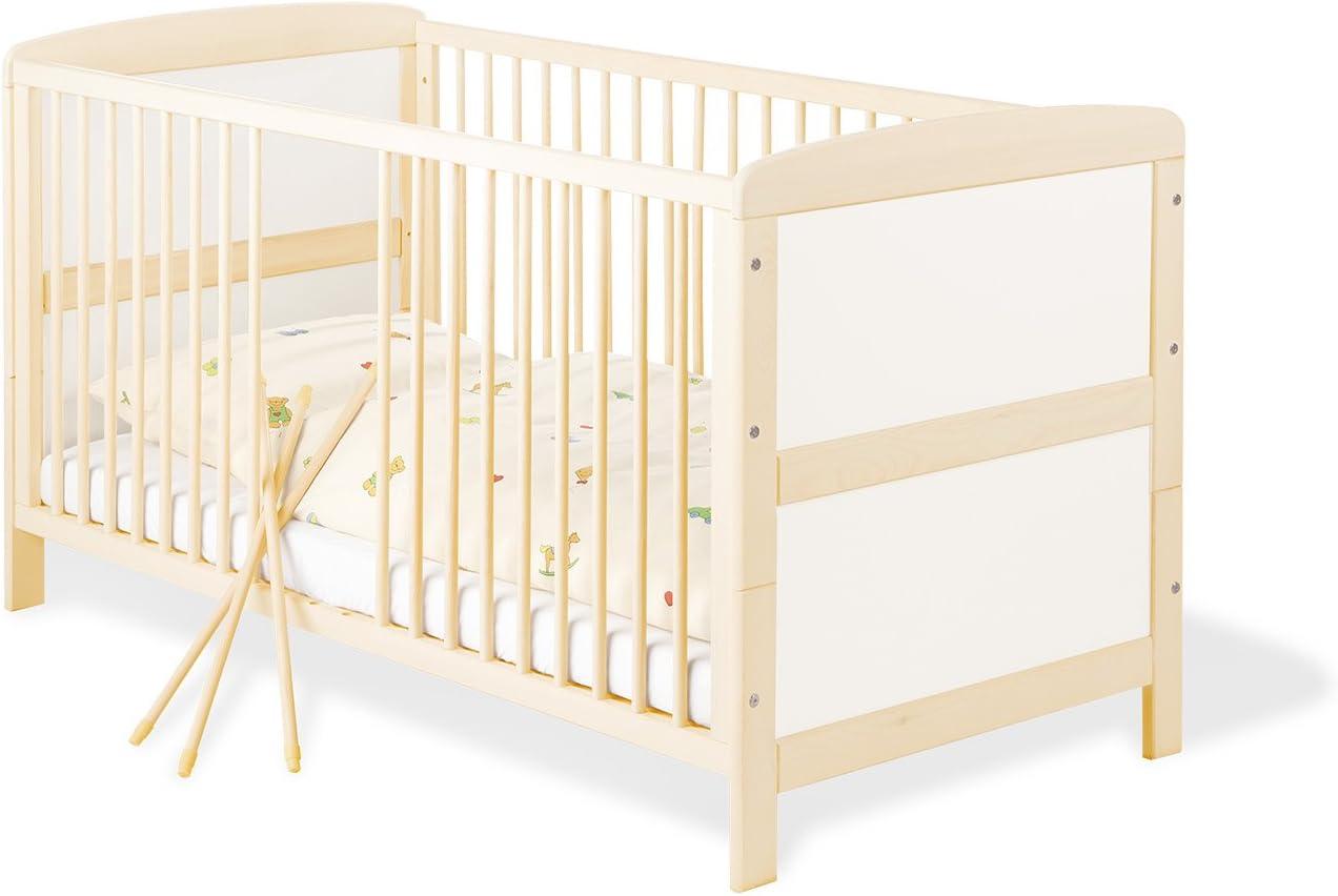 Pinolino 110095 Florian - Cuna convertible en cama infantil