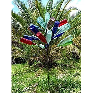 Big 28 Wine Bottle tree ~ Yard and Garden Decor.FREE SHIP ~ Perfect size in Southern Classic tradition. Proudly Made in the USA ! ~ FREE SHIP (lower 48) 50