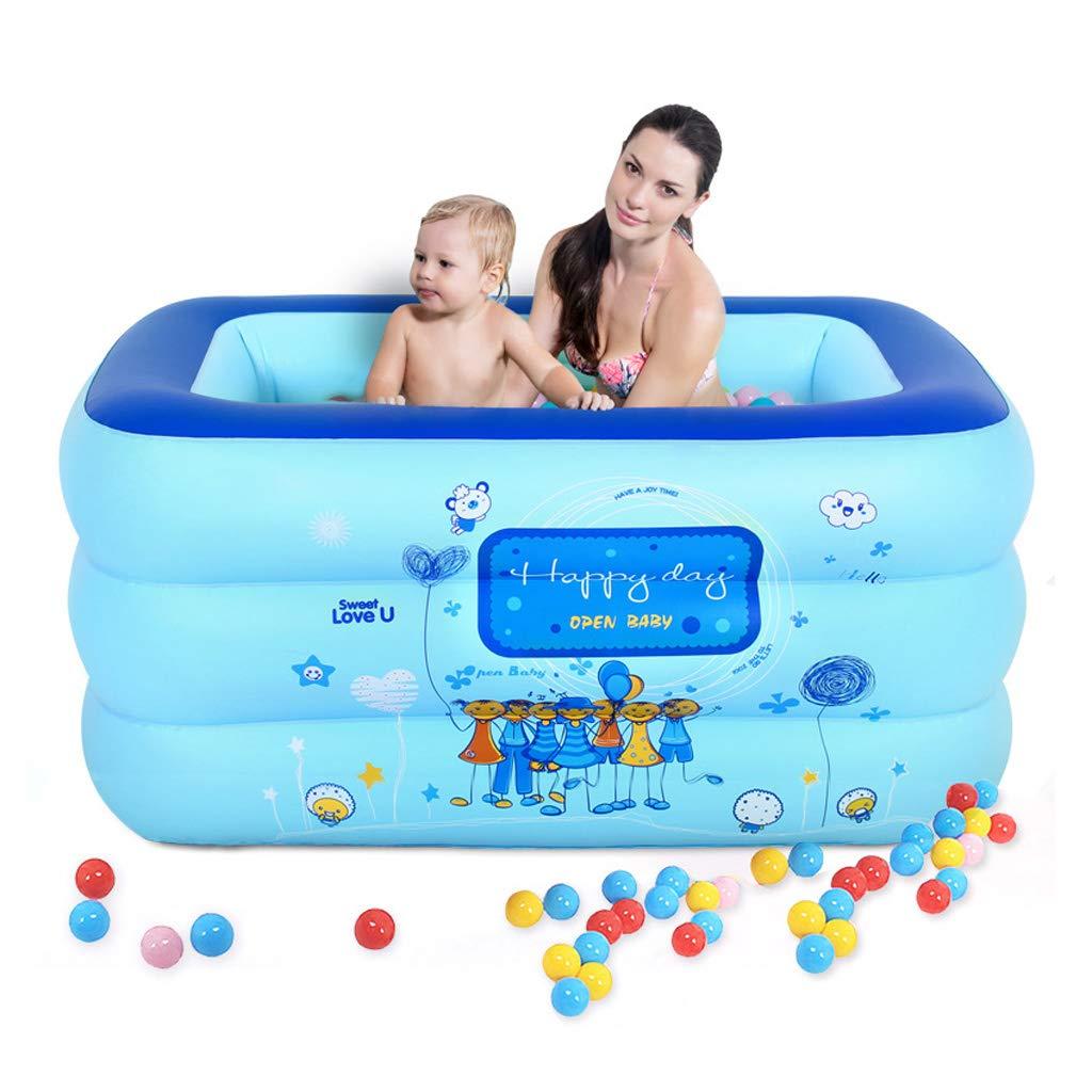 Good home Aufblasbare Badewanne des Aufblasbaren Baby-Bad-Erwachsenen des Erwachsenen Dickere Faltende Badewanne PVC-aufblasbares Pool Der Kinder