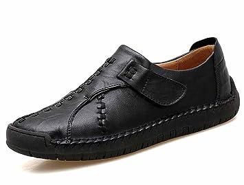 GLSHI Hombres Casual Plano Zapatos Otoño Invierno Ponerse Mocasines Zapatos: Amazon.es: Deportes y aire libre