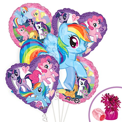 Costume SuperCenter My Little Pony Balloon Kit (Each) - Party Supplies -