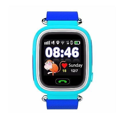 Amazon.com: iikids Smart Watch Children GPS Q90 Touch Screen ...