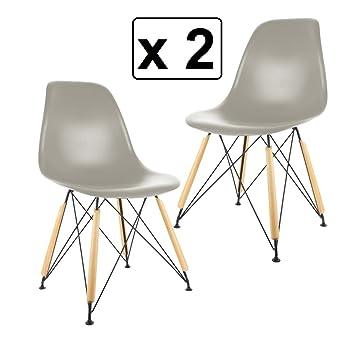 The Concept Factory Set Aus 2 Design Stühlen In Guter Qualität    Skandinavischer Stil