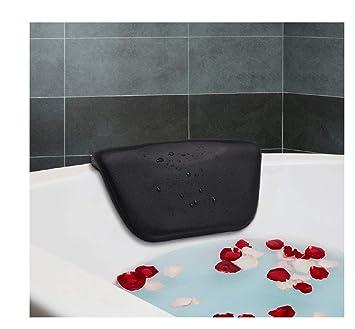 Amazon.com: Spa almohada de baño, essort PU cojín de baño ...