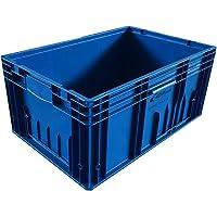 3 cajas de almacenamiento KLT de plástico industrial