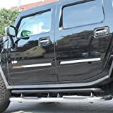 H2 SUT Putco 403408 Chrome Side Vent Covers for Hummer H2