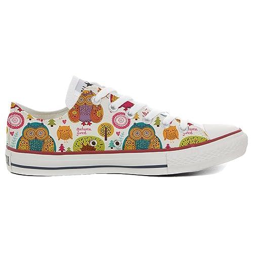 Converse All Star Zapatos Personalizadas (Producto Artesano) Autumn Forest: Amazon.es: Zapatos y complementos