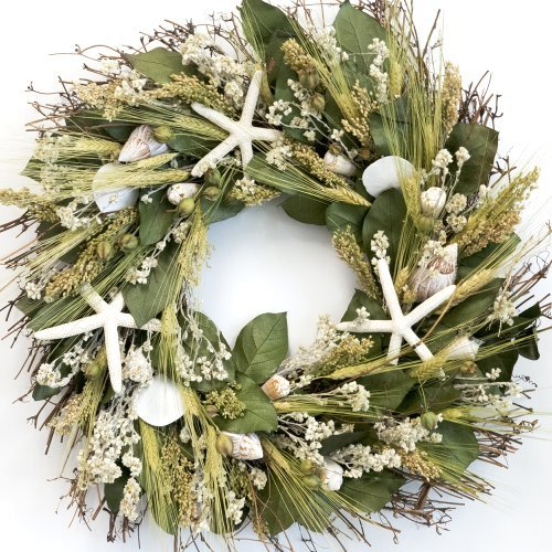 Nantucket Starfish Beach Wreath
