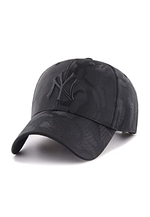 8d13c972 47 Brand Adjustable Cap - Jigsaw New York Yankees black: Amazon.co ...