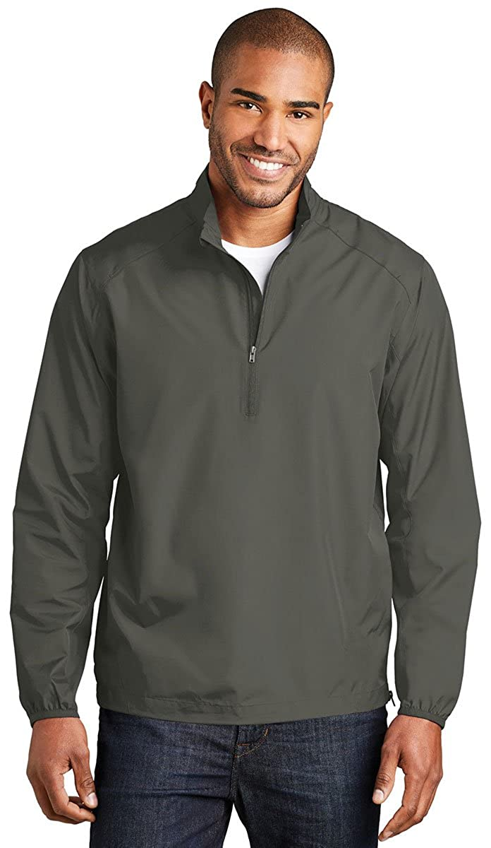 Port Authority Mens Zephyr 1//2-Zip Pullover