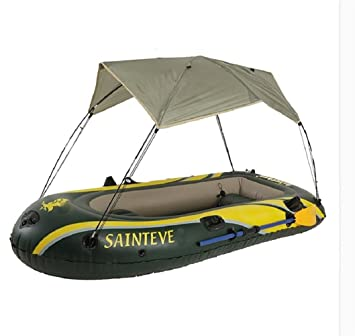 wenrit Barco hinchable para kayak con sombrilla y PVC ...