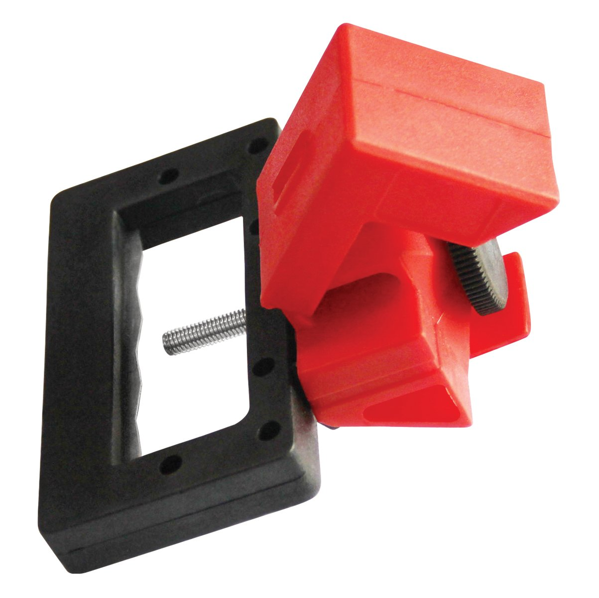 Lockout Safety Supply 7258 480/600V Breaker Lockout, 2 1/4'' x 7/8'', Red