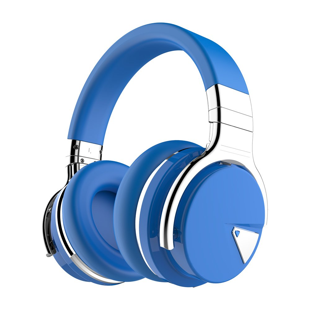 bcb99135798 COWIN E7 Wireless Bluetooth Headphones with Mic Hi-Fi Deep Bass Wireless  Headphones Over Ear, Comfortable Protein Earpads, 30 Hours Playtime for  Travel Work ...