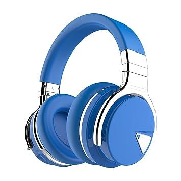COWIN E7 activo con Bluetooth y cancelación de ruido auriculares de diadema con micrófono graves profundos