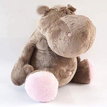 L&J Super-Soft Juguete De Peluche Gigante Lindo Muñeca De Hipopótamo Shaggy Peluches Adorable Regalo