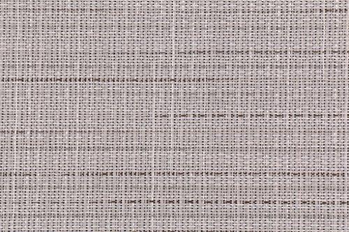 Phifertex Wicker Weave Charm Woven Vinyl Mesh Sling Chair Outdoor Fabric in Platinum