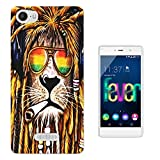 716 - Rasta Lion Weed Cannibas Hair Jamaican Design Wiko Fever 4G Fashion Trend CASE Gel Rubber Silicone All Edges Protection Case Cover