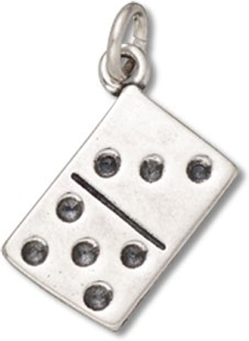 Sterling Silver Girls .8mm Box Chain Number Five 5 Pendant Necklace
