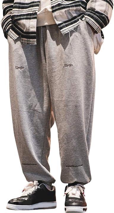 Irypulse Unisex Sport Pantalones Jogging Trousers Flojo Moda Ropa Calle Pants Para Hombres Mujeres Jovenes Otono Invierno Amazon Es Ropa Y Accesorios