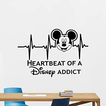 Large Disney Land Mickey Minnie Kids Wall Stickers Vinyl Decal Art Mural Decor Nursery Décor