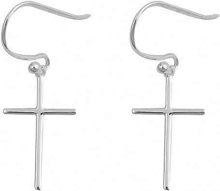 Cross Fish Earring