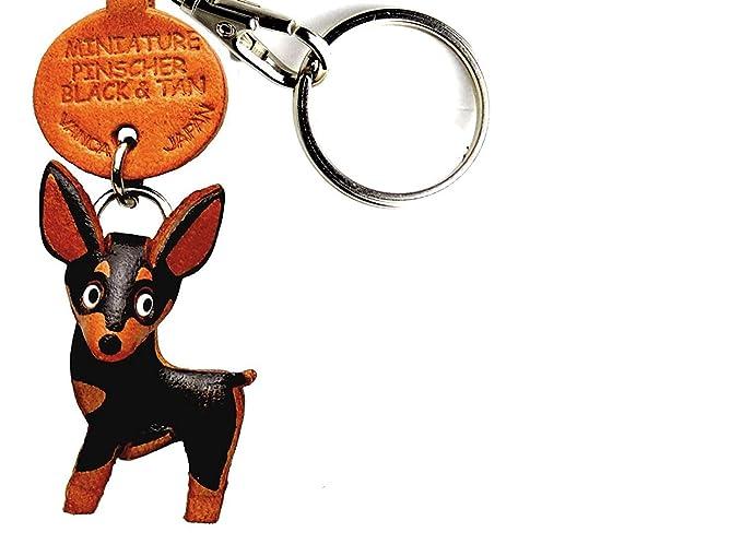Amazon.com: Pinscher miniatura Black & Tan piel perro ...