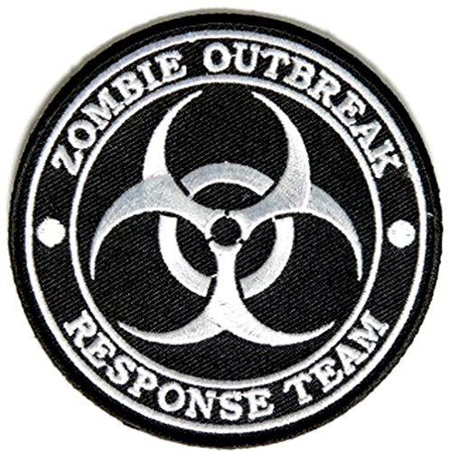 Zombie Outbreak Response Team Iron on Patch