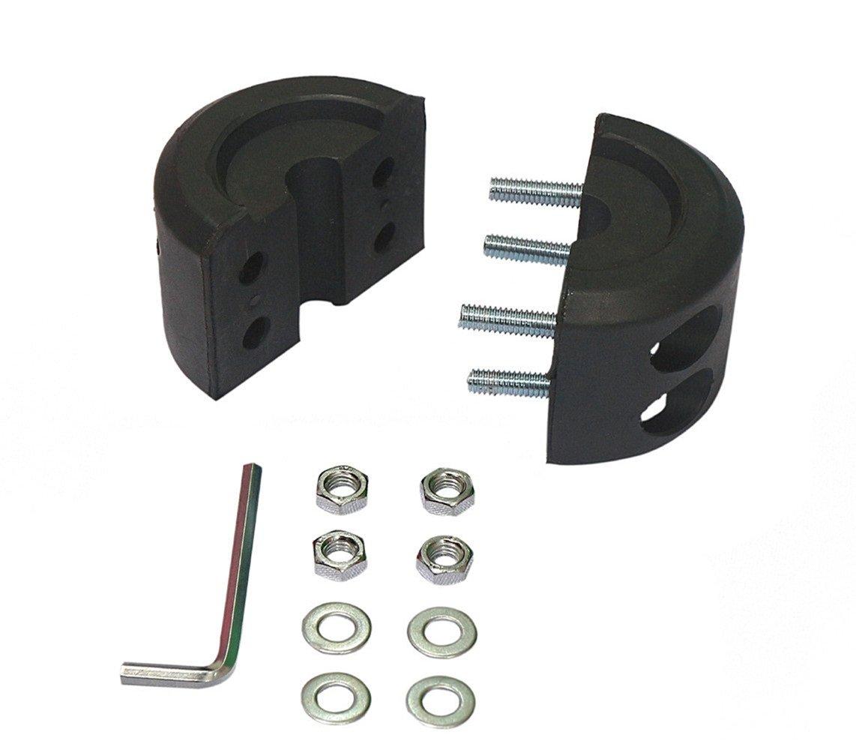 Black Allen Wrench Qbreloh Winch Cable Hook Stopper ATV UTV Winches Rubber Winch Line Saver