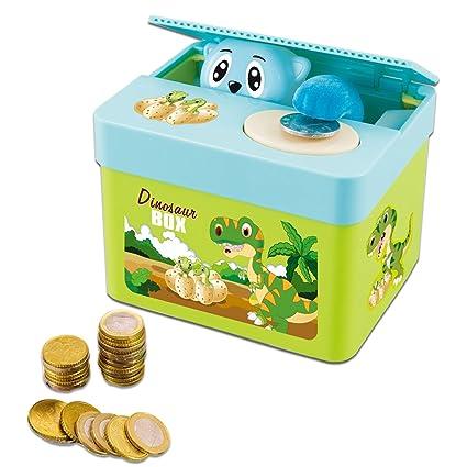 2x Mignon En Plastique Animal Tirelire Économie Cash Coin Tirelire Enfants