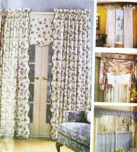 SIMPLICITY 7759 WINDOW TREATMENTS ~ SEWING PATTERN Sewing Patterns Drapes