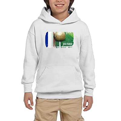France Football 2018 Youth Casual With Pocket Hoodies Crew Neck Pullover Sweatshirts