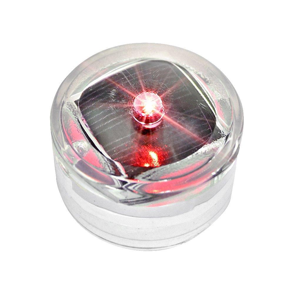 JUST style ソーラーLEDガーデンライト 自動充電 自動点灯 防水 B00Y18PZNY 点灯タイプ|レッド6個 レッド6個 点灯タイプ