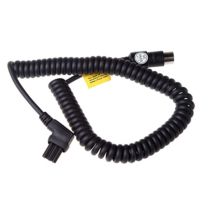 6 opinioni per Godox PB820/PB960 esterno flash pacco batterie cavo PB-Nx per Nikon