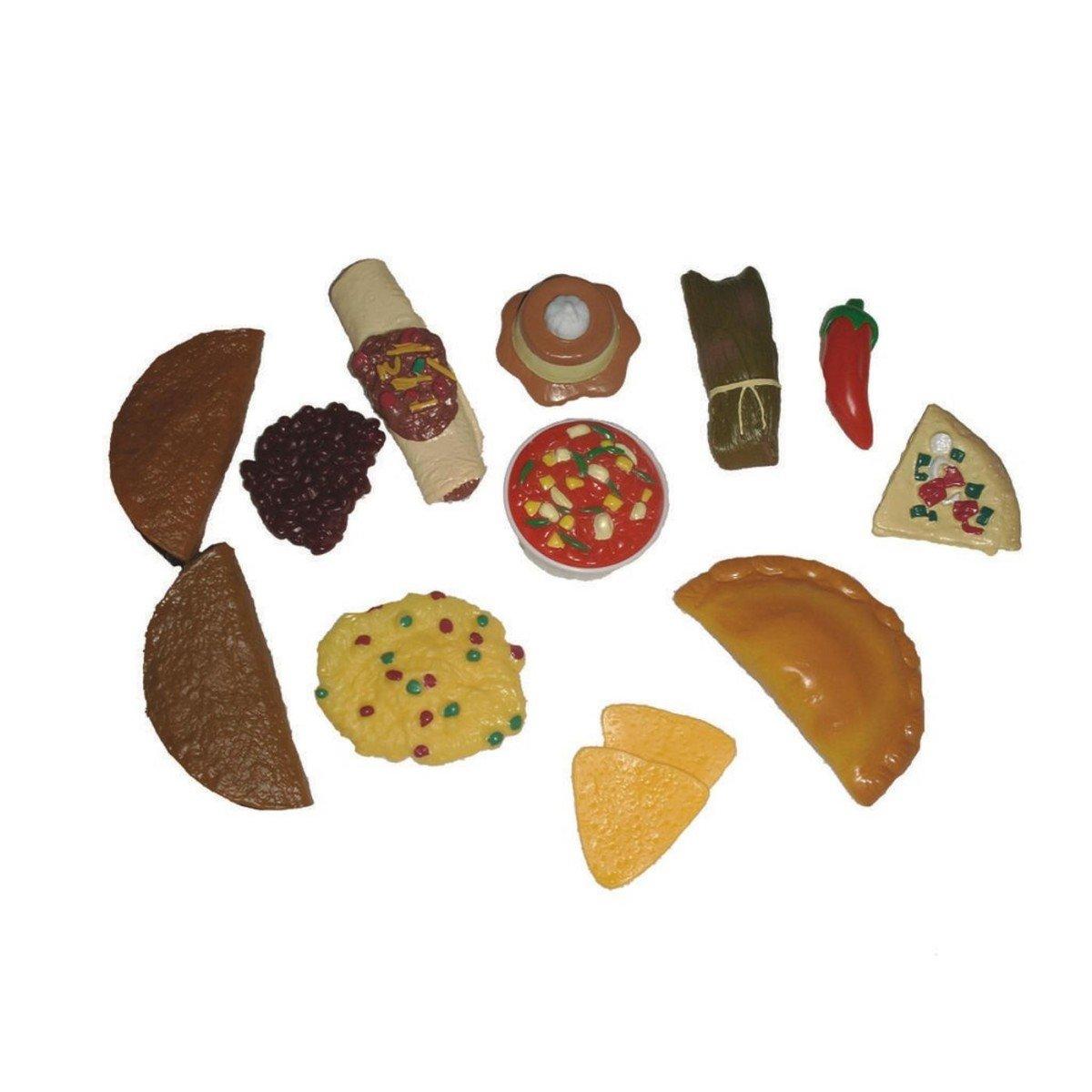 Amazon.com: Mojo Education 125781 Latino Play Foods: Industrial ...
