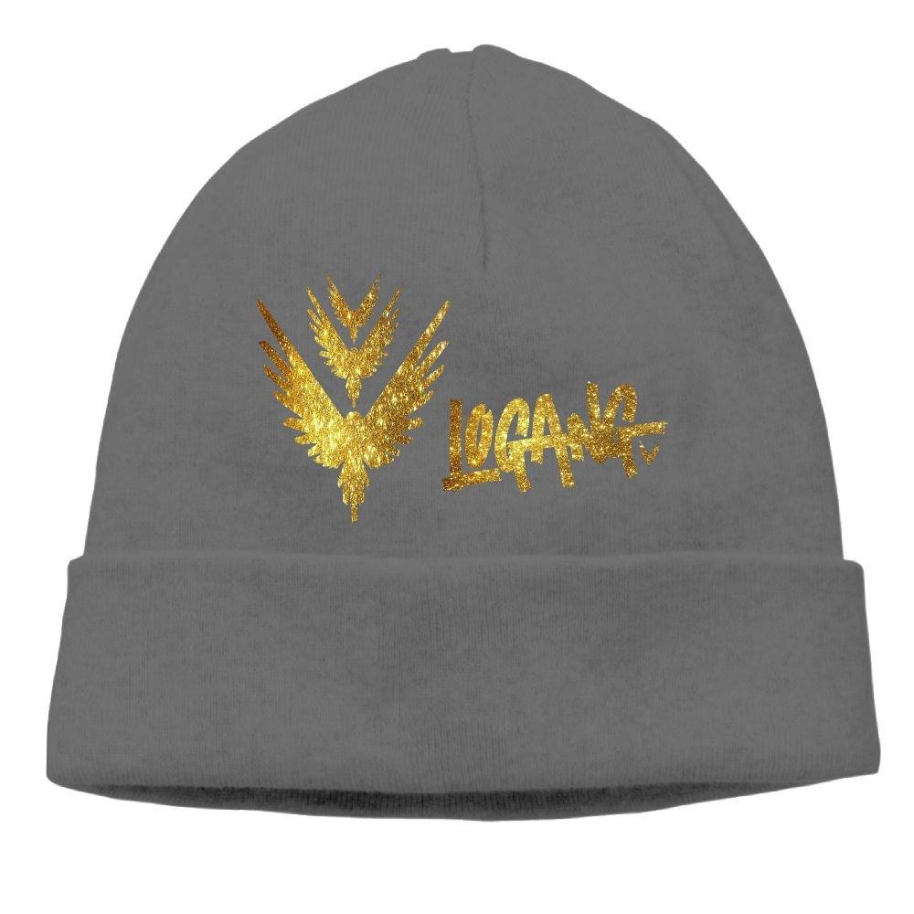 Anganquzh Custom Logan Paul Custom Gold Background Fashion Hat