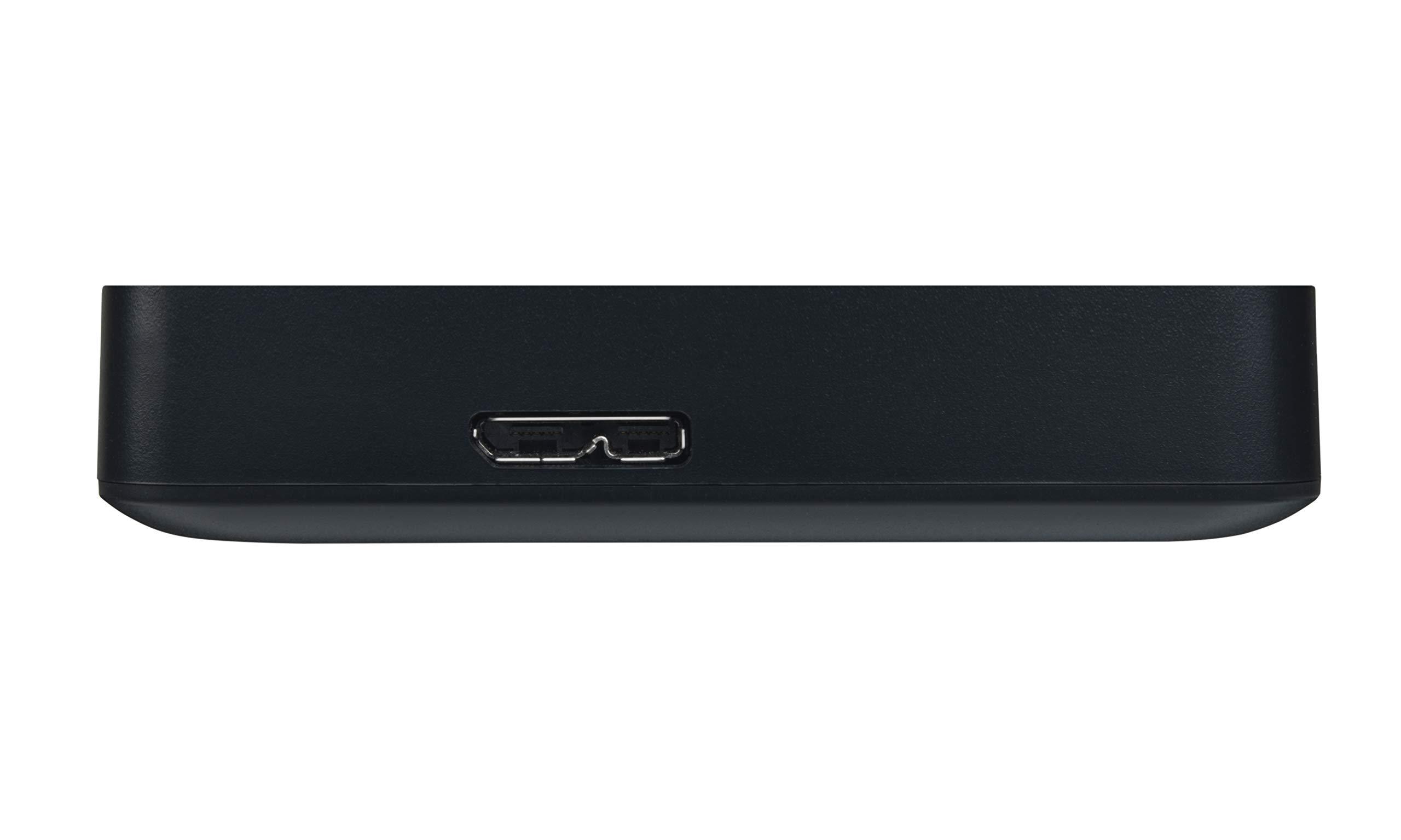 Toshiba Canvio Basics 4TB Portable External Hard Drive USB 3.0, Black (HDTB440XK3CA) by Toshiba (Image #5)