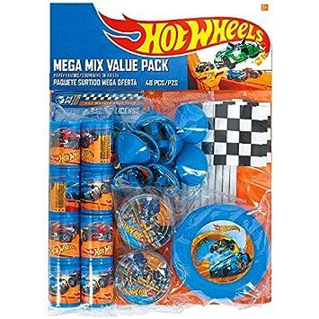 Fast Riding Hot Wheels Wild Racer fiesta de cumpleaños Mega ...