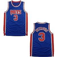 73HAHA73 Camisetas de Baloncesto para Hombre NBA Brooklyn Nets 3# Drazen Petrovic Bordado Swingman Sin Mangas Camisas Versión Retro Sudaderas Jerseys