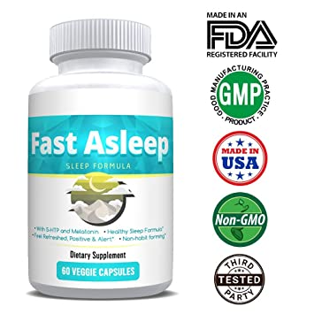 FAST ASLEEP - All NEW Fast-Acting Sleep Formula - All-Natural and More