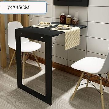 ZLL Lazy Table- Mesa Plegable Plegable con Patas, Escritorio de ...