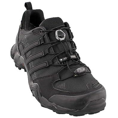 b31b384ce3 adidas outdoor Men's Terrex Swift R GTX Black/Black/Dark Grey Hiking Shoes -