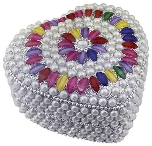 Modern Beaded Necklace Earrings - 6