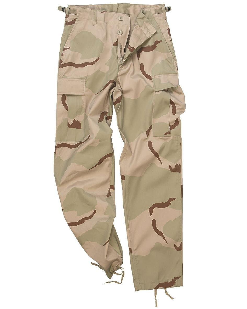 10fce0ecb01 Amazon.com  Mil-Tec Men s Us Army Ranger Trousers Work Combat Military  Casual Pants 3 Colour Desert  Clothing
